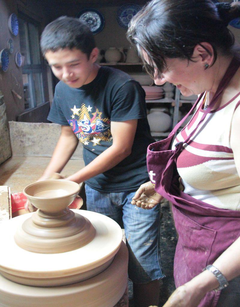 Artesanía en Uzbekistán