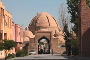 Área comercial en un caravansar. Bukhara