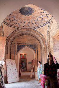 Área comercial en una Madraza. Bukhara