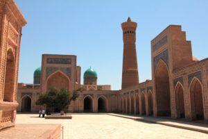 Patio de la mezquita. Bukhara
