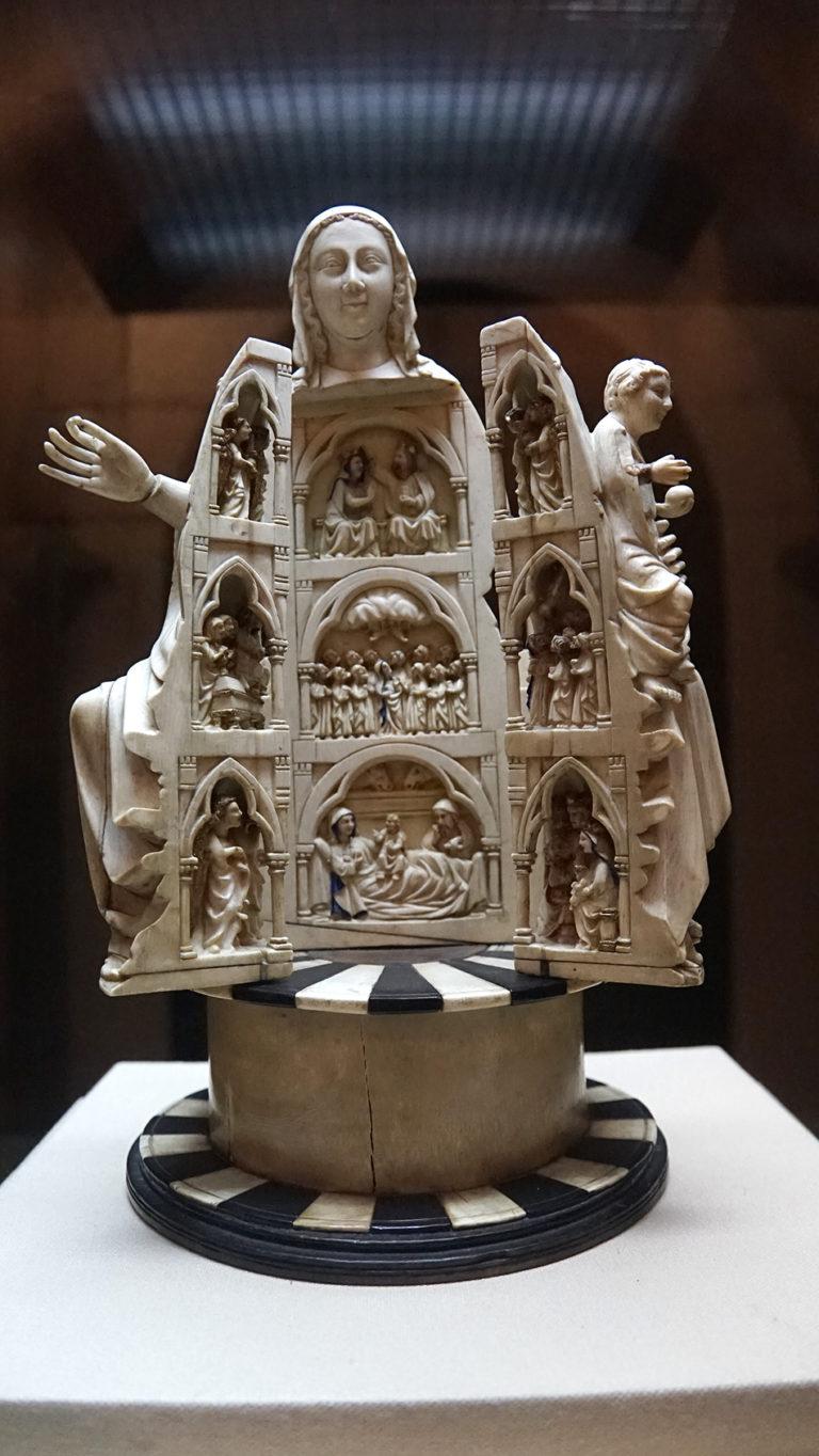 Virgen de la Abrideira. Capilla Real de Doña Violante.