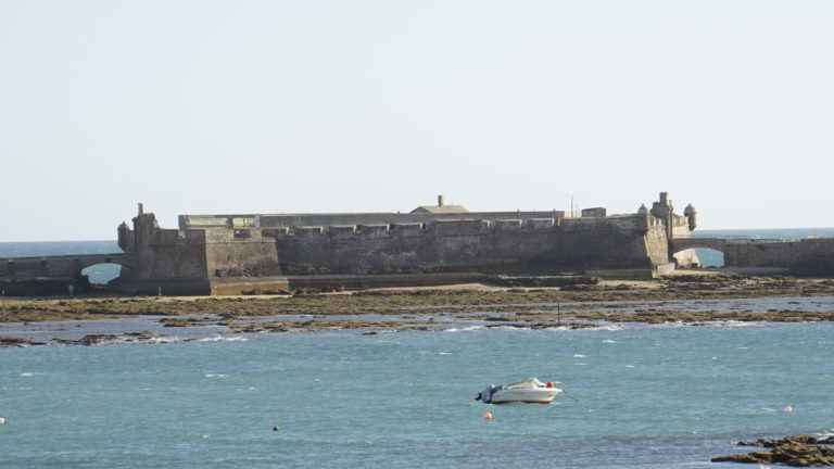 Castillo de San Sebastián. Cádiz