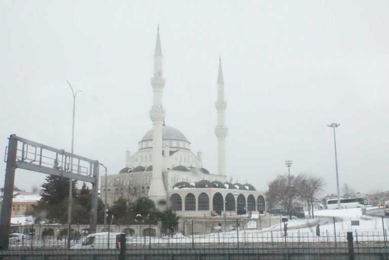 Estambul nevado