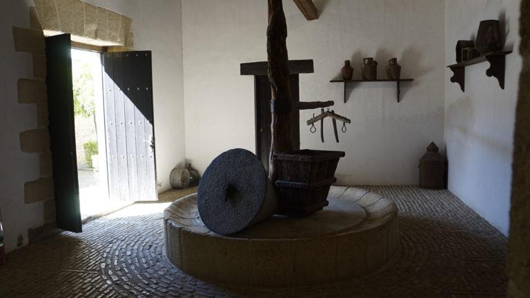 Molino de aceite. Alcázar Almohade. Jerez de la Frontera