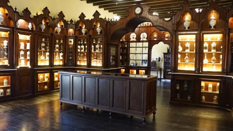 Farmacia. Palacio de Villavicencio. Jerez de la Frontera