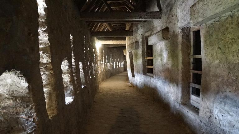 Interior de la muralla