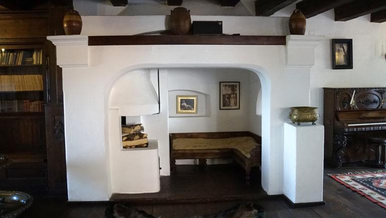 Castillo de Bran. Chimenea