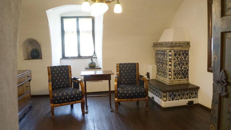 Castillo de Bran. Zona de descanso