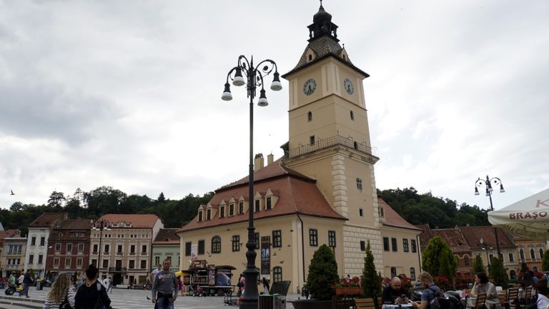 Brasov. Torre del ayuntamiento
