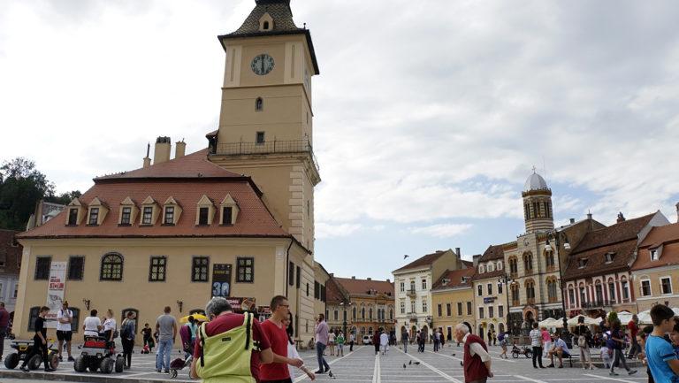 Brasov. Plaza principal