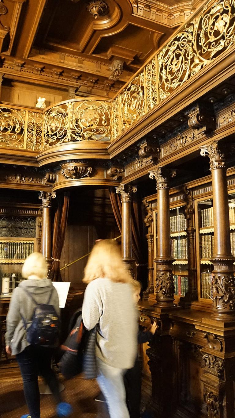 Castillo de Peles. Biblioteca