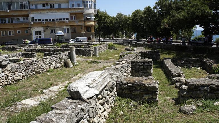 Constanza. Restos ciudad romana