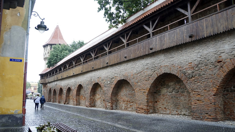 Sibiu. Muralla
