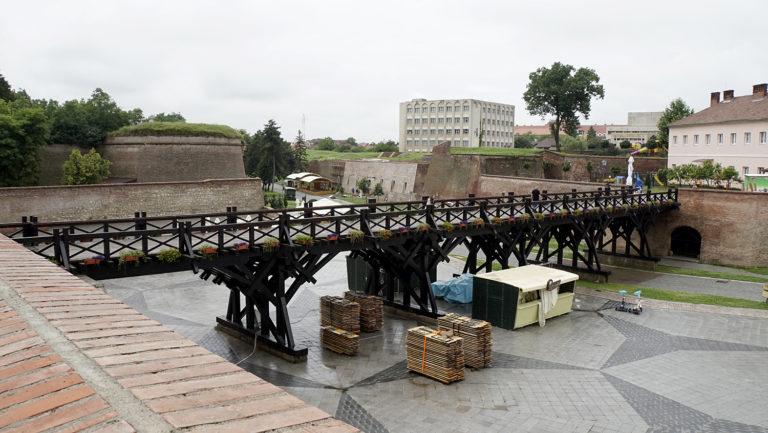 Alba Iulia. Muralla