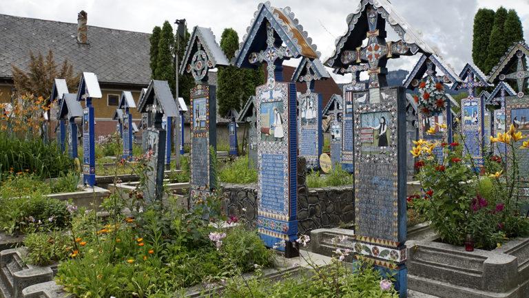 Cementerio alegre de Sapanta