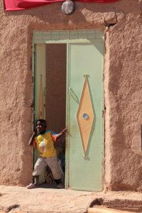 Marruecos. Poblado